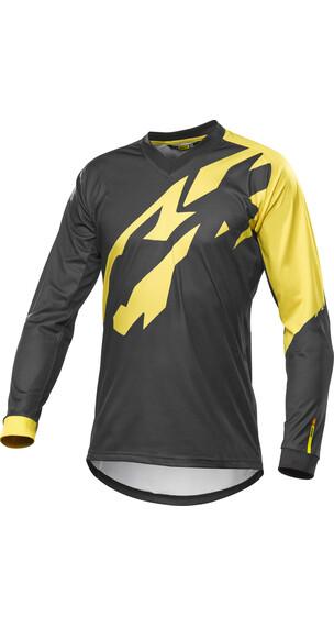 Mavic Crossmax Pro Jersey korte mouwen Heren geel/zwart